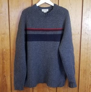 J. CREW 100% Wool Crewneck sweater, sz XL